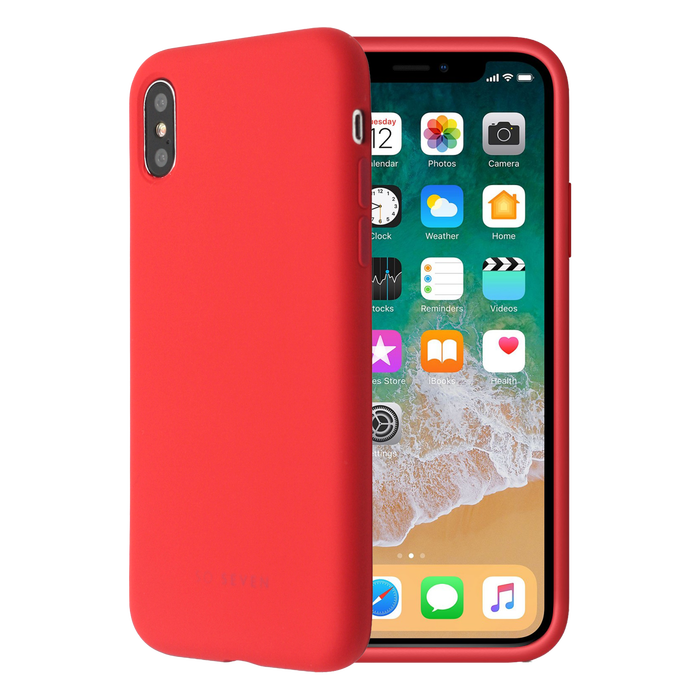 coque iphone x apple silicone jaune