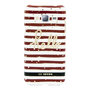 So Seven COQUE BORD DE MER ROUGE ET BLANC SAMSUNG GALAXY J3 2016