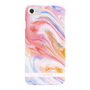 So Seven COQUE CARRARE DEGRADES DE ROSES, TOUCHE RUBBER IPHONE 7/8