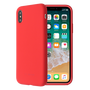 So Seven COQUE SO SEVEN SMOOTHIE SILICONE ROUGE IPHONE  X