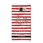 So Seven COQUE BORD DE MER RAYURES ROUGES SAMSUNG GALAXY A5 2016