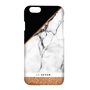 So Seven COQUE MIDNIGHT MARBLE ET PAILLETTES OR ROSE IPHONE 7/8 PLUS