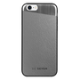 So Seven COQUE  METALLIC EFFECT SIMILI CUIR SILVER IPHONE 7/8
