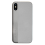 So Seven COQUE METALLIC EFFECT SIMILI CUIR SILVER IPHONE X