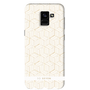 So Seven COQUE CUBIC MIDNIGHT BLANC/OR: SAMSUNG GALAXY A8 2018
